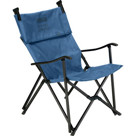 Grand Canyon El Tovar Highback Chaise, dark blue